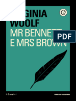 Mr Bennett e Mrs Brown Virginia Woolf 1