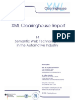 Semantic Web Technologies in the Automotive Industry