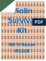 Violin Survival Kit