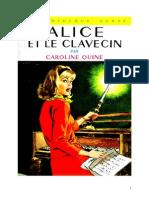 Caroline Quine Alice Roy 21 BV Alice et le clavecin 1944.doc