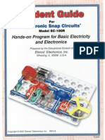 Student Guide for Electronic Snap Circuits