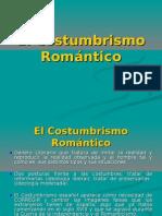 El Costumbrismo Romántico. Apuntes