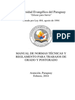 Manual de la Universidad Evangélica del Paraguay