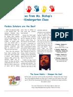 bishop newsletter january 19