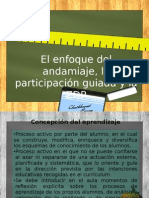 El Enfoque Del Andamiaje, La Participación Guiada y La ZDP
