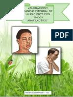Valoracion y Manejo Integral Del Paciente Con Shock Anafilactico