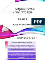 Curs 1 Introducere in Managementul comunicarii