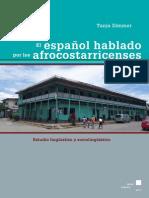 El Español Hablado Por Los Afrocostarricenses