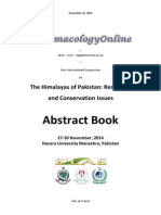 Abstract Book ISHP 2014 (1st International Symposium on the Himalayas of Pakistan) PhOL