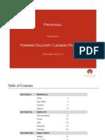 Flying Crown's Dalfort Legend Presentation Proposal 03 Dec 2014