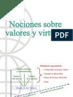 Valores y Virtudes