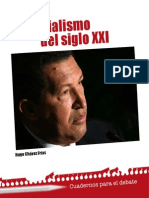 CHAVEZ HUGO. Socialismo del Siglo XXI.pdf