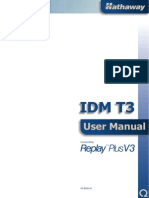 Idm t3 v3 User Manual