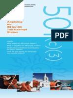 501C3 Brochure