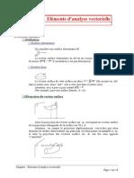 El%E9ments d'analyse vectorielle.doc