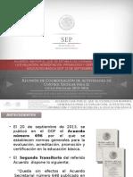 ACUERDO FEDERACION 696 primaria1.ppsx