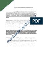 Contrato Prestacion Servicios Profesionales-gratis