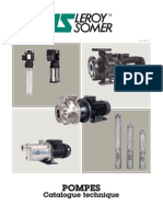 Catalogue Pompes Leroy Somer