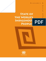 State of the World's Indigenous Peoples Report