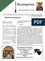 Reconquista 8 Janvier Février 2015