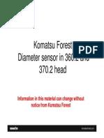 Change the Diameter Sensor PT