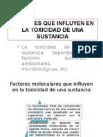 Factores que influyen en la toxicidad de una sustncia.pptx