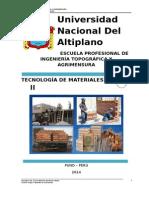 Tecnología de Materiales II