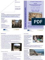 RECIPE European Course Leaflet