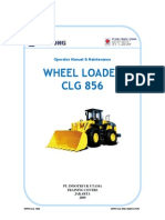 WHEEL LOADER Maintenance & specification WA CGL 856 Liu Gong.pdf