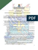 Processo Seletico de Coinhecimento Específico - PSCE 2015