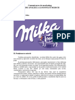 Analiza Logo-ului Milka