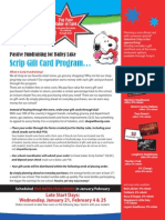 Scrip Gift Card Program 2015