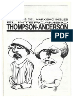 Sazbón_Dos Caras Del Marxismo Inglés (Acerca Del Debate Thompson - Anderson)