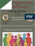 poblacion ecuatoriana