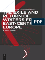 Neubauer the Exile and Return of Writers From East-Central Europe