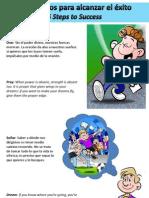 5 Principios Para Alcanzar El Éxito - 5 Steps to Success