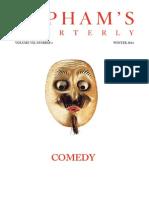 Lapham's Quarterly - Winter 2014 - Comedy