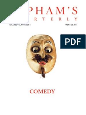Lapham's Quarterly - Winter 2014 - Comedy | Laughter | Satire