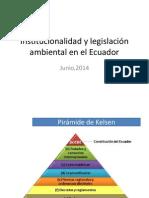 Institucionalidad y Legislación Ambiental en El Ecuador