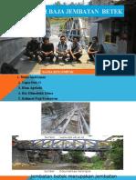 Struktur Baja Jembatan Betek