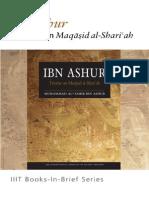 Books-In-Brief Ibn Ashur Treatise on Maqasid AlShariah