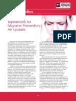 Topiramate for Migraine Prevention May 2012
