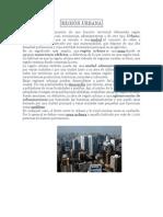 Región Urbana, Agrícola y Natural. 27.10.14
