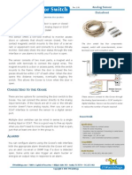 MS-1 Magnetic Door Switch Datasheet (v1.06)