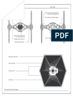 Star Wars - Blue Print - Tie Fighter