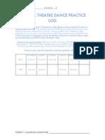 Practice Log 2014