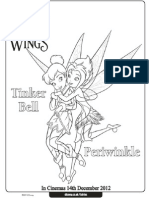 Printable Tinkerbell and Periwinkle Coloring Pages