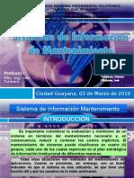Sistemas Informacion Mantenimiento