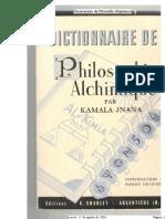1267. Kamala-Jnana - Diccionario de Filosofía Alquímica
