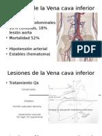 Lesiones de La Vena Cava Inferior